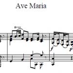 Д. Бортнянский — Ave Maria 1 часть