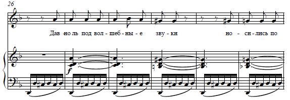 А. Варламов - Давно ль под волшебные звуки