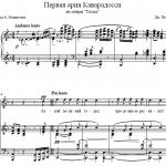 Дж. Пуччини — Первая Ария Каварадосси из оперы «Тоска»