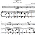 William Arms Fisher — Deep River (American Negro Melody)