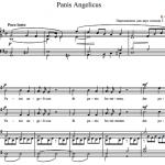 С. Франк — Panis Angelicus
