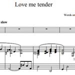 Elvis Presley — Love me tender