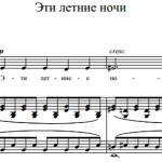 С.В. Рахманинов — Эти летние ночи