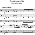 Й. Гайдн — Adagio cantabile