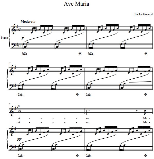 Bach - Gounod - Ave Maria