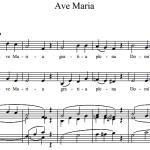 С. Франк — Ave Maria