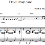 Bob Dorough & Terill Kerk — Devil may care