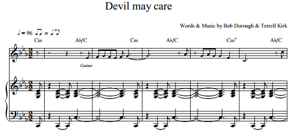Bob Dorough & Terill Kerk - Devil may care