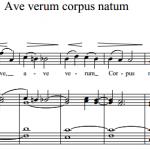 В.А. Моцарт — Ave verum corpus natum