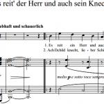 И. Брамс / Johannes Brahms — Es reit' der Herr und auch sein Knecht