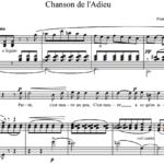 Ф.П. Тости / Francesco Paolo Tosti — Chanson de l'Adieu