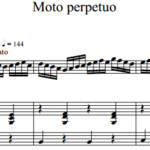 Н. Паганини — Вечное движение / N. Paganini — Moto perpetuo