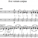 В.А. Моцарт — Ave verum corpus