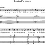 Г.Ф. Гендель — Lascia ch'io pianga из опер «Альмира» и «Ринальдо»