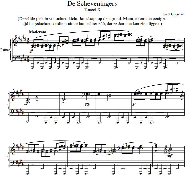 Carel Oberstadt – De Scheveningers - Toneel X
