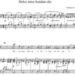 Кавалли Франческо / Francesco Cavalli — Dolce amor bendato dio
