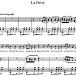 Сен-Санс Шарль-Камиль / Charles-Camille Saint-Saëns — La Brise